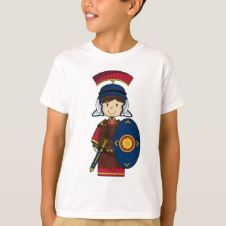 Roman Soldier with Shield T-Shirt