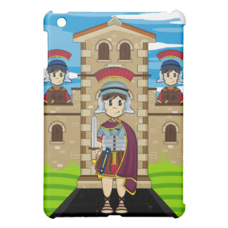 Roman Soldiers at Fort ipad Case