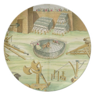 Roman Soldiers Besieging a Town, plate 23B, class