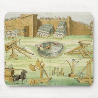 Roman Soldiers Besieging a Town, plate 23B, class Mouse Mat