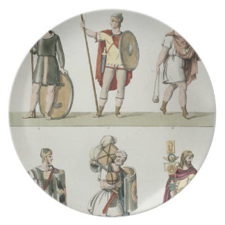 Roman Soldiers, detail from plate 2, class 5 of Pa