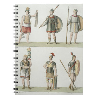 Roman Soldiers, detail from plate 2, Class 5 of Pa Notebooks