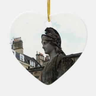 Roman Spa, Bath, England Christmas Ornament