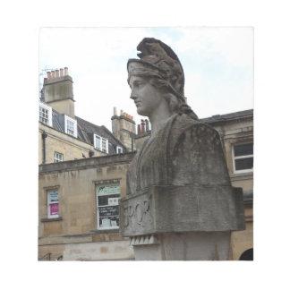 Roman Spa, Bath, England Notepad