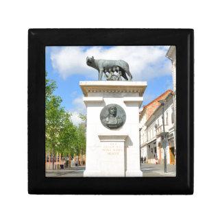 Roman statue gift box