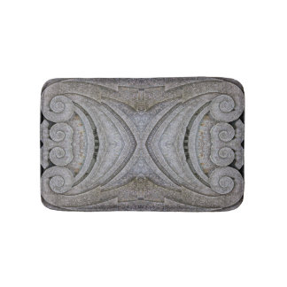 Roman Style Carved Lime Stone Curl Shell Shapes Bath Mat