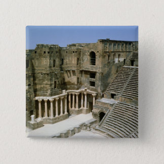 Roman theatre at Bosra , Syria 15 Cm Square Badge