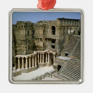 Roman theatre at Bosra , Syria Christmas Ornament