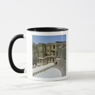 Roman theatre at Bosra , Syria Mug