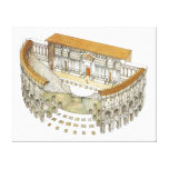 Roman Theatre Canvas Print