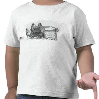 Roman war machine for firing javelins t-shirts