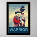 Roman Warrior Gladiator Statue Print