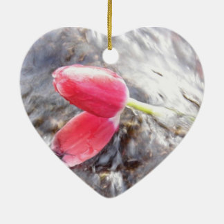 Romance and simplicity christmas ornament
