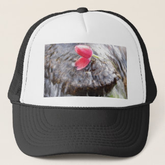 Romance and simplicity trucker hat