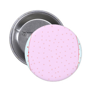 Romance Background 6 Cm Round Badge