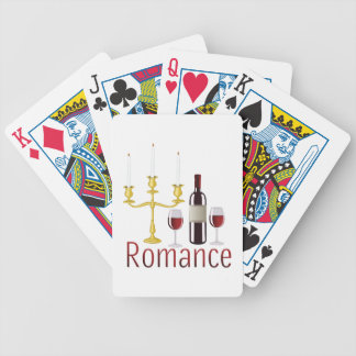 Romance Bicycle Playing Cards