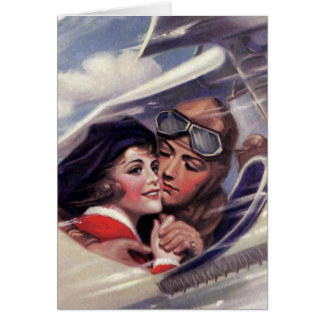 Romance in the Sky Greeting Card