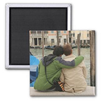 Romance in Venice Magnet