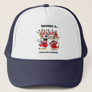 Romance is... Dining With Candlelights Trucker Hat