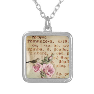 Romance - Italian Love Necklace Romanzo -Valentine