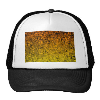 ROMANCE ME IN ORANGE Fiery Space Ombre Abstract Cap