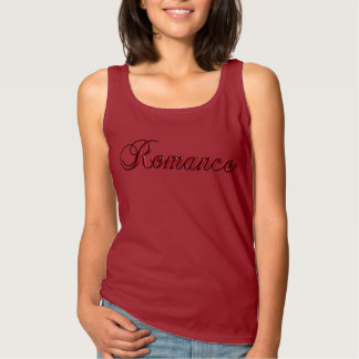 Romance Red Tank Top for Love and Valentine's Day