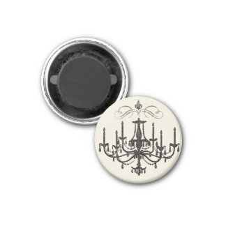 Romance with a Chandelier Magnet French Love