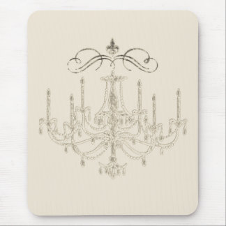 Romance with a Chandelier ~ Mousepad