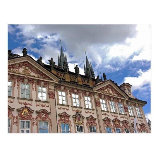 Romanesque Building(4), Old Town, Prague Postcard