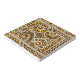 Romanesque Mosaic Pattern Trivet