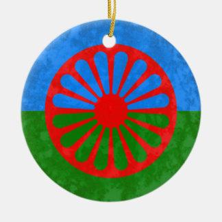 Romani Round Ceramic Decoration