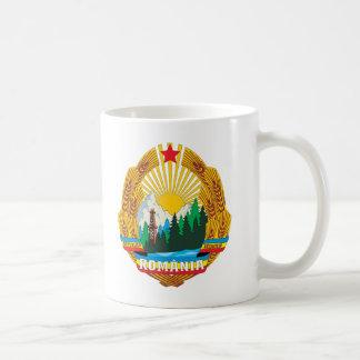 Romania 1965 Coat Of Arms Coffee Mug