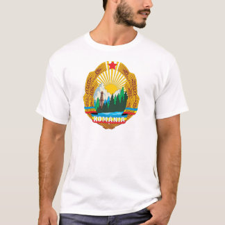 Romania 1965 Coat Of Arms T-Shirt