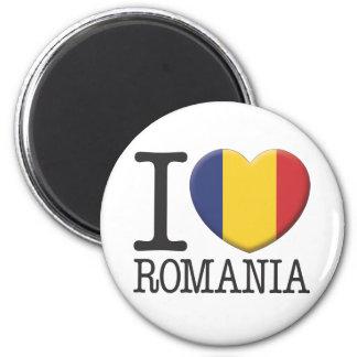 Romania 6 Cm Round Magnet