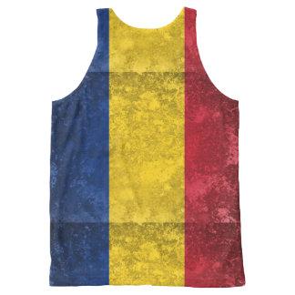 Romania All-Over Print Tank Top