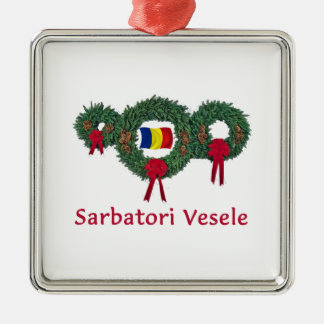 Romania Christmas 2 Ornaments