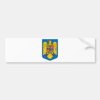 Romania coat of arms bumper sticker