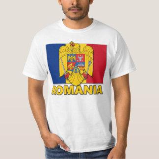 Romania Coat of Arms Flag T-Shirt