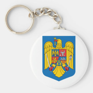 Romania coat of arms key ring