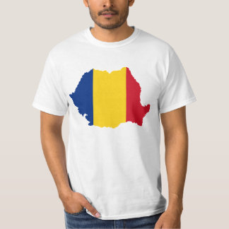 Romania country flag design T-Shirt