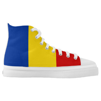 Romania country flag symbol nation high tops
