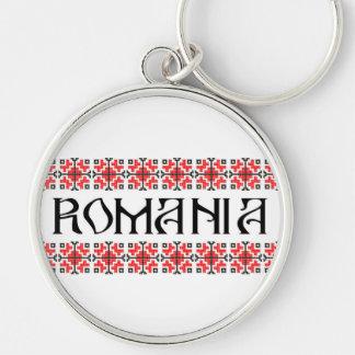 romania country symbol name text folk motif key ring