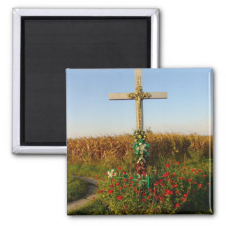 Romania, Crucifix,wayside shrine Magnet