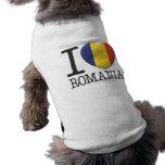 Romania Dog Shirt