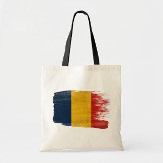 Romania Flag Canvas Bags