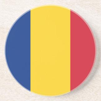 Romania Flag Coaster