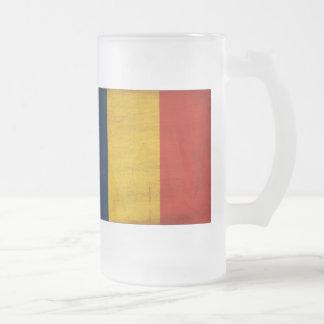 Romania Flag Coffee Mugs