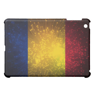 Romania Flag Firework Case For The iPad Mini