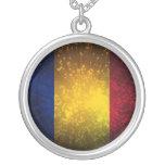 Romania Flag Firework Pendants