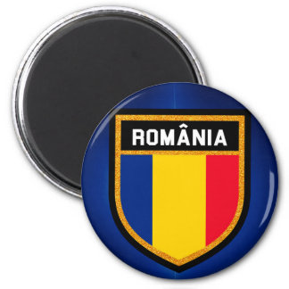 Romania Flag Magnet